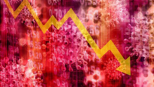 Crisis financiera por coronavirus (ilustración) - Sputnik Mundo