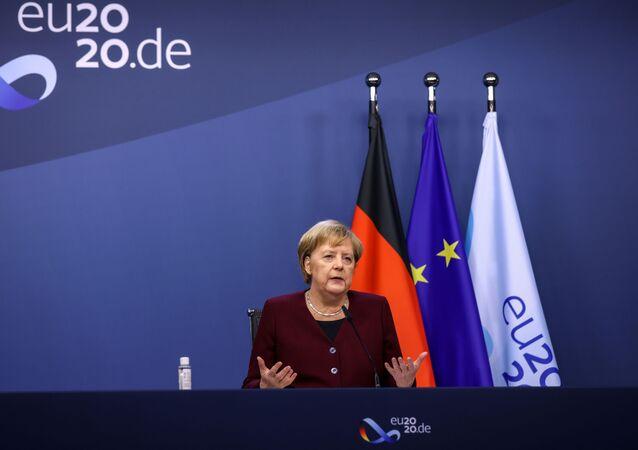 Angela Merkel, canciller federal alemana