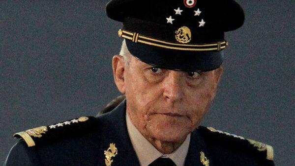Exsecretario de Defensa de México, Salvador Cienfuegos - Sputnik Mundo