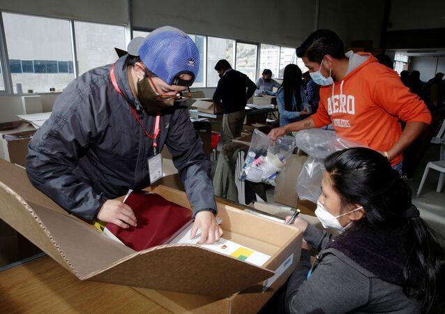 Preparaciones para las elecciones en Bolivia