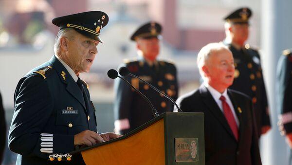General Salvador Cienfuegos, el exsecretario de la Defensa Nacional de México - Sputnik Mundo