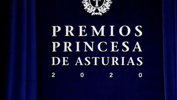 Ceremonia de entrega de los Premios Princesa de Asturias 2020 - Sputnik Mundo