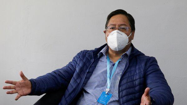 Luis Arce, candidato a la presidencia de Bolivia - Sputnik Mundo