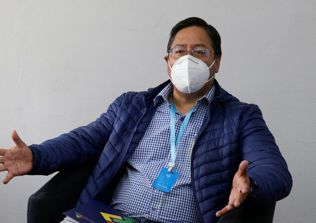 Luis Arce, candidato a la presidencia de Bolivia