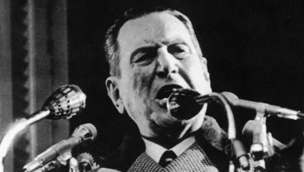 Juan Domingo Perón, expresidente de Argentina - Sputnik Mundo