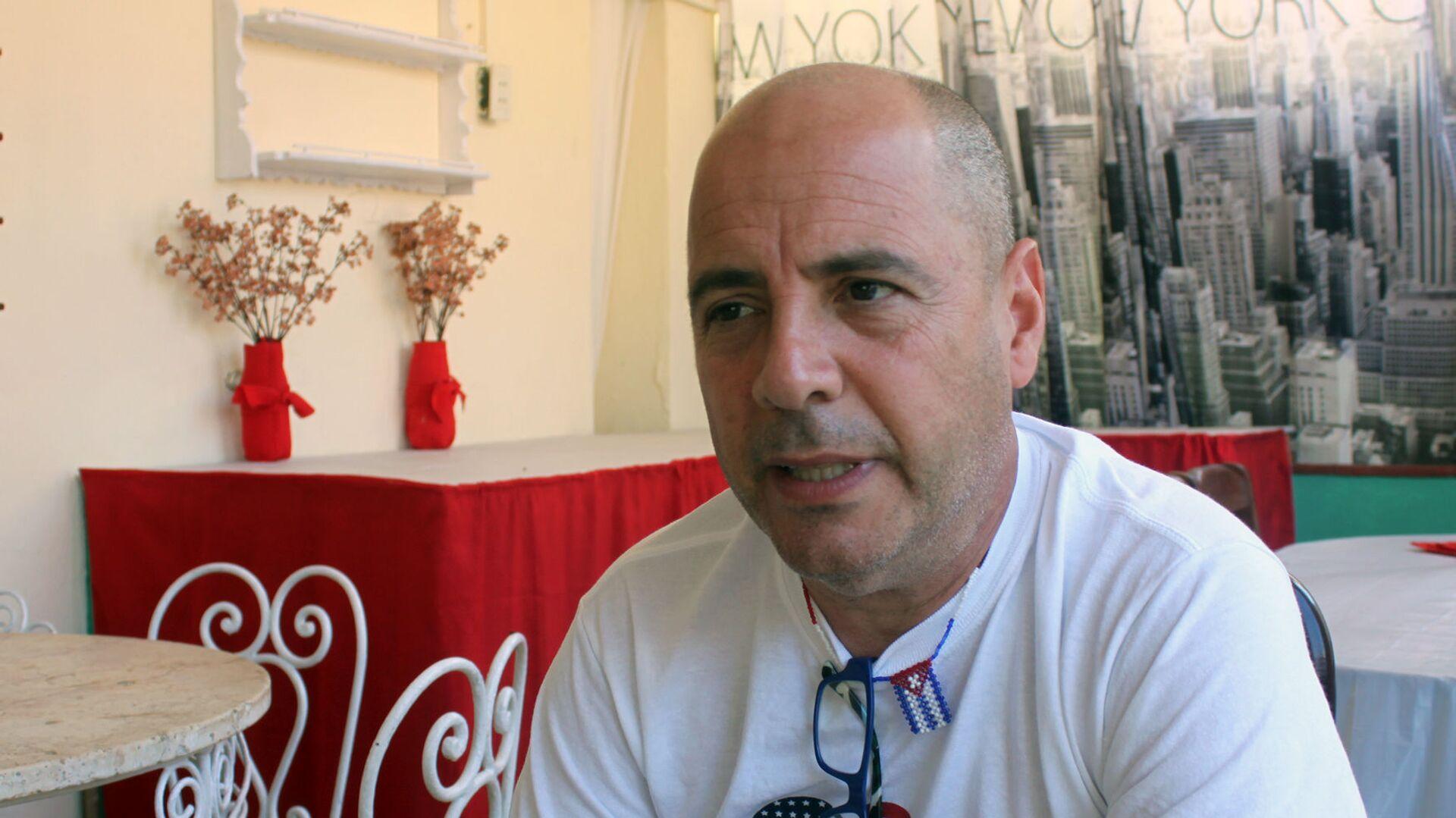 Carlos Lazo, profesor cubanoamericano residente en EEUU - Sputnik Mundo, 1920, 23.06.2021
