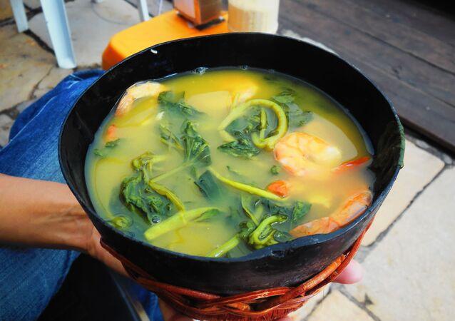 Tacacá, comida típica del estado de Pará y la región amazónica