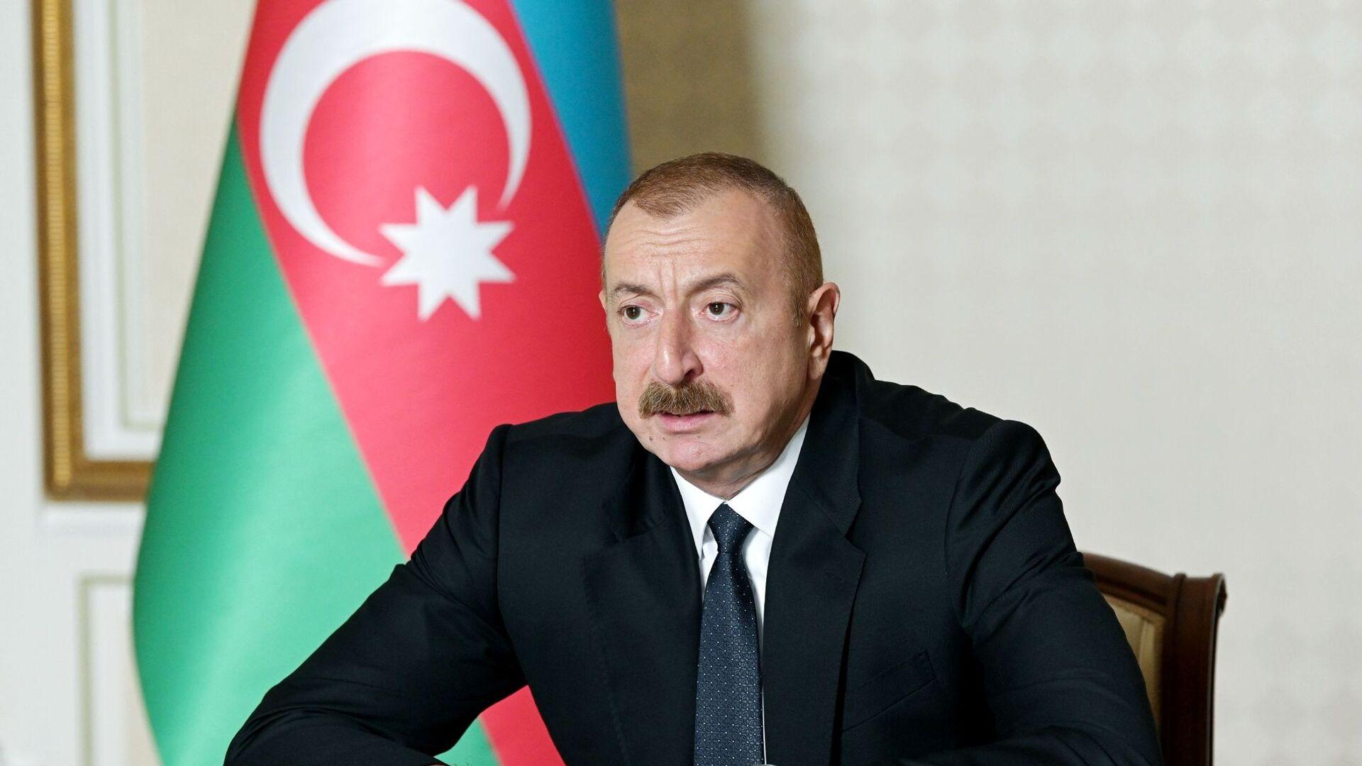 Ilham Aliyev, presidente de Azerbaiyán - Sputnik Mundo, 1920, 14.08.2021
