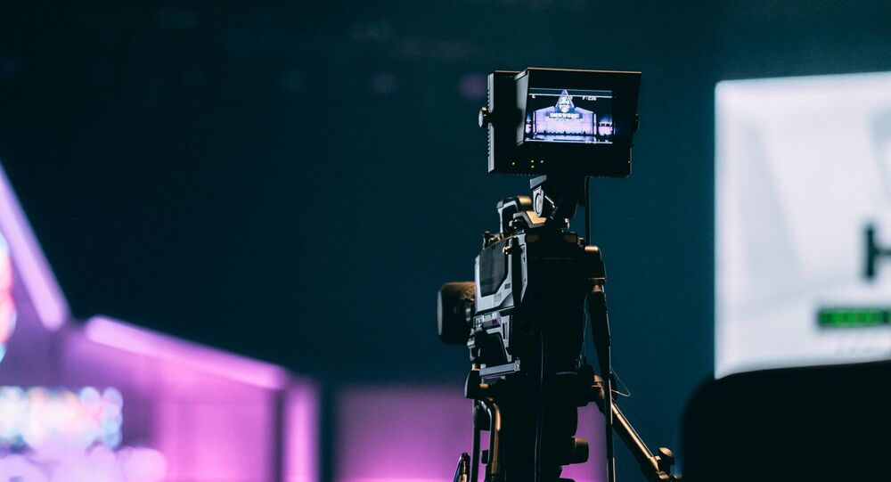 Un plató de televisión (imagen referencial)