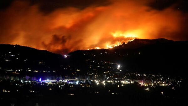 Incendio de Cameron Peak (estado de Colorado) - Sputnik Mundo