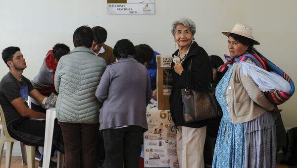 Elecciones presidenciales en Bolivia (archivo) - Sputnik Mundo