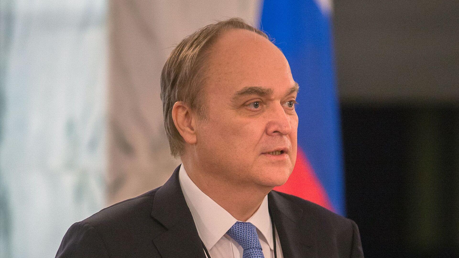 El embajador de Rusia en EEUU, Anatoli Antónov - Sputnik Mundo, 1920, 25.03.2021