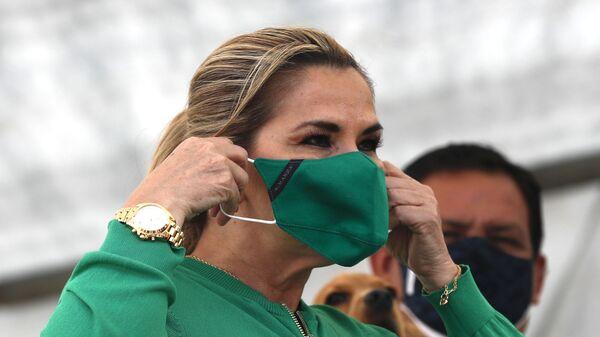 Jeanine Áñez, ex presidenta transitoria de Bolivia (archivo) - Sputnik Mundo