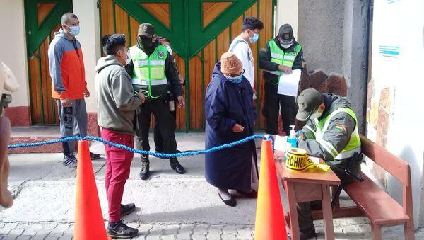 Votación en las elecciones presidenciales de Bolivia - Sputnik Mundo