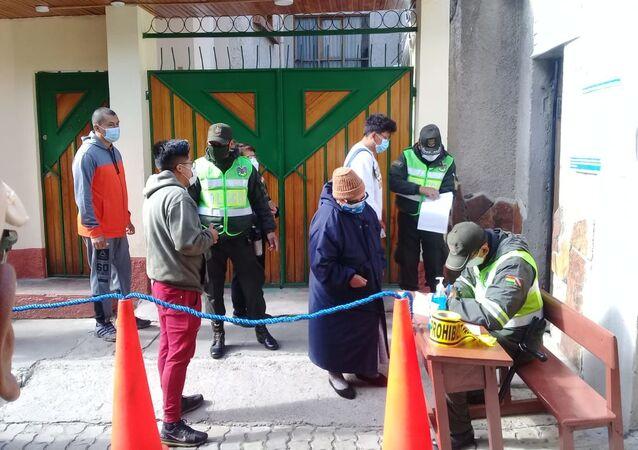 Votación en las elecciones presidenciales de Bolivia