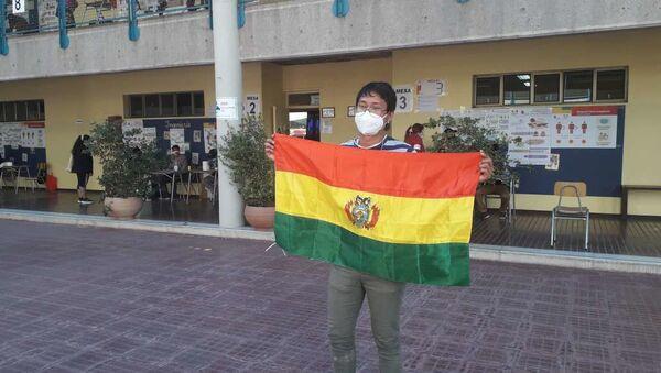 Bolivianos votan en Chile - Sputnik Mundo