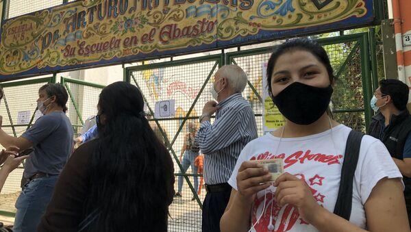 Electora boliviana vota desde Buenos Aires - Sputnik Mundo