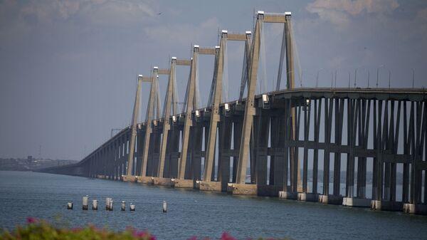 Puente Rafael Urdaneta, que atraviesa el lago de Maracaibo - Sputnik Mundo