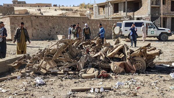 Situación tras la explosión en una provincia afgana de Ghor - Sputnik Mundo