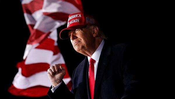 Donald Trump en su mitin de Wisconsin - Sputnik Mundo