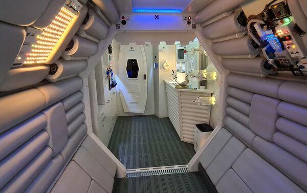 Escenario del Museo Alien de Barcelona - Sputnik Mundo