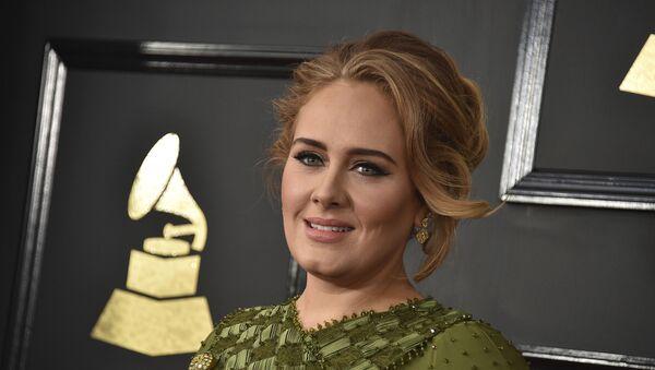 La cantante estadounidense, Adele - Sputnik Mundo