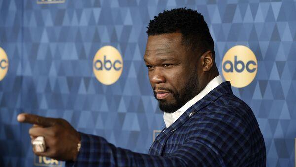 Curtis James Jackson III, más conocido por su nombre artístico 50 Cent - Sputnik Mundo