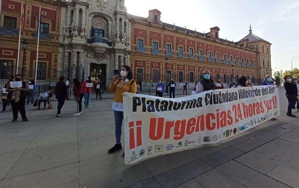 Plataforma de Villaverde ante el Gobierno andaluz - Sputnik Mundo