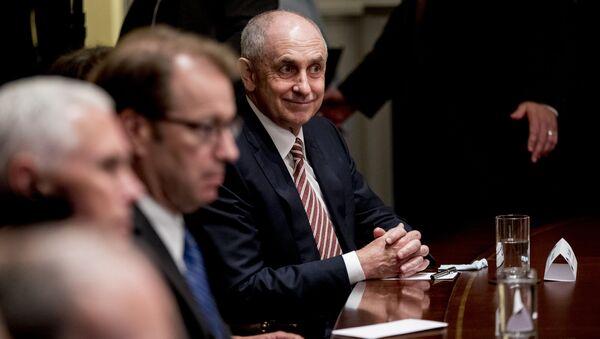 Christopher Liddell, asesor económico de la Casa Blanca  - Sputnik Mundo