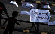 Protestas contra Impunidad por matanza de El Mozote