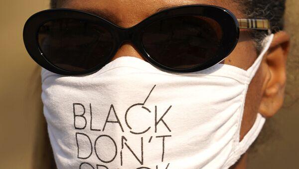 Protesta contra el racismo en Chicago (EEUU) - Sputnik Mundo