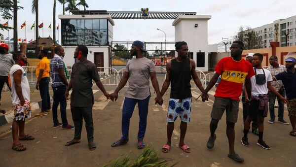 Protestas en Nigeria - Sputnik Mundo