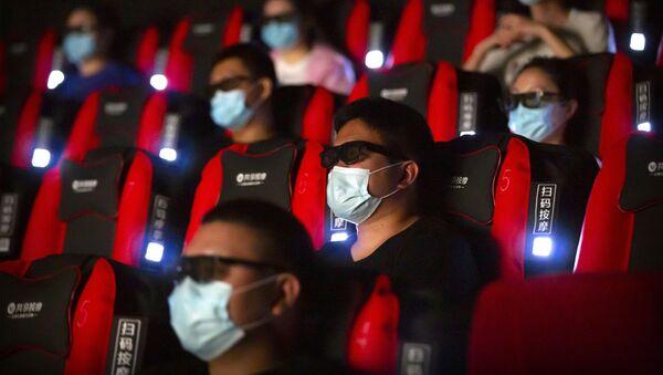 Un cine chino, referencial - Sputnik Mundo