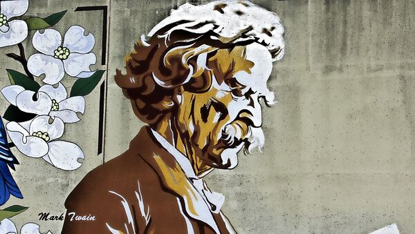 Pintura de Mark Twain - Sputnik Mundo