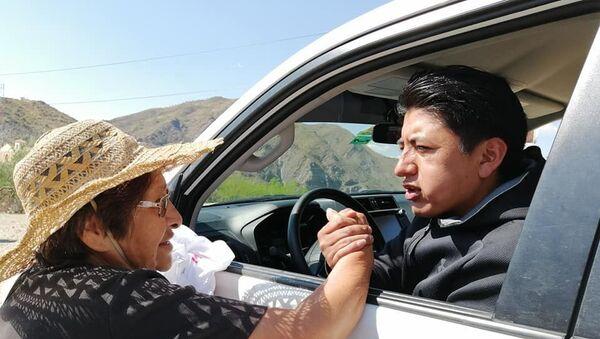 Marco Antonio Pumari, líder cívico de Potosí, Bolivia - Sputnik Mundo