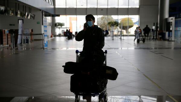 El aeropuerto El Alto durante la huelga - Sputnik Mundo