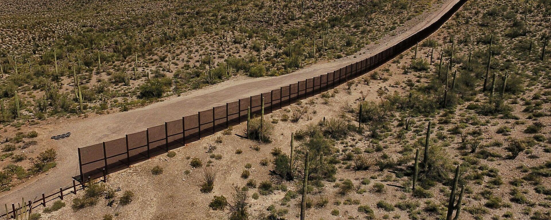 Frontera entre EEUU y México - Sputnik Mundo, 1920, 21.10.2020