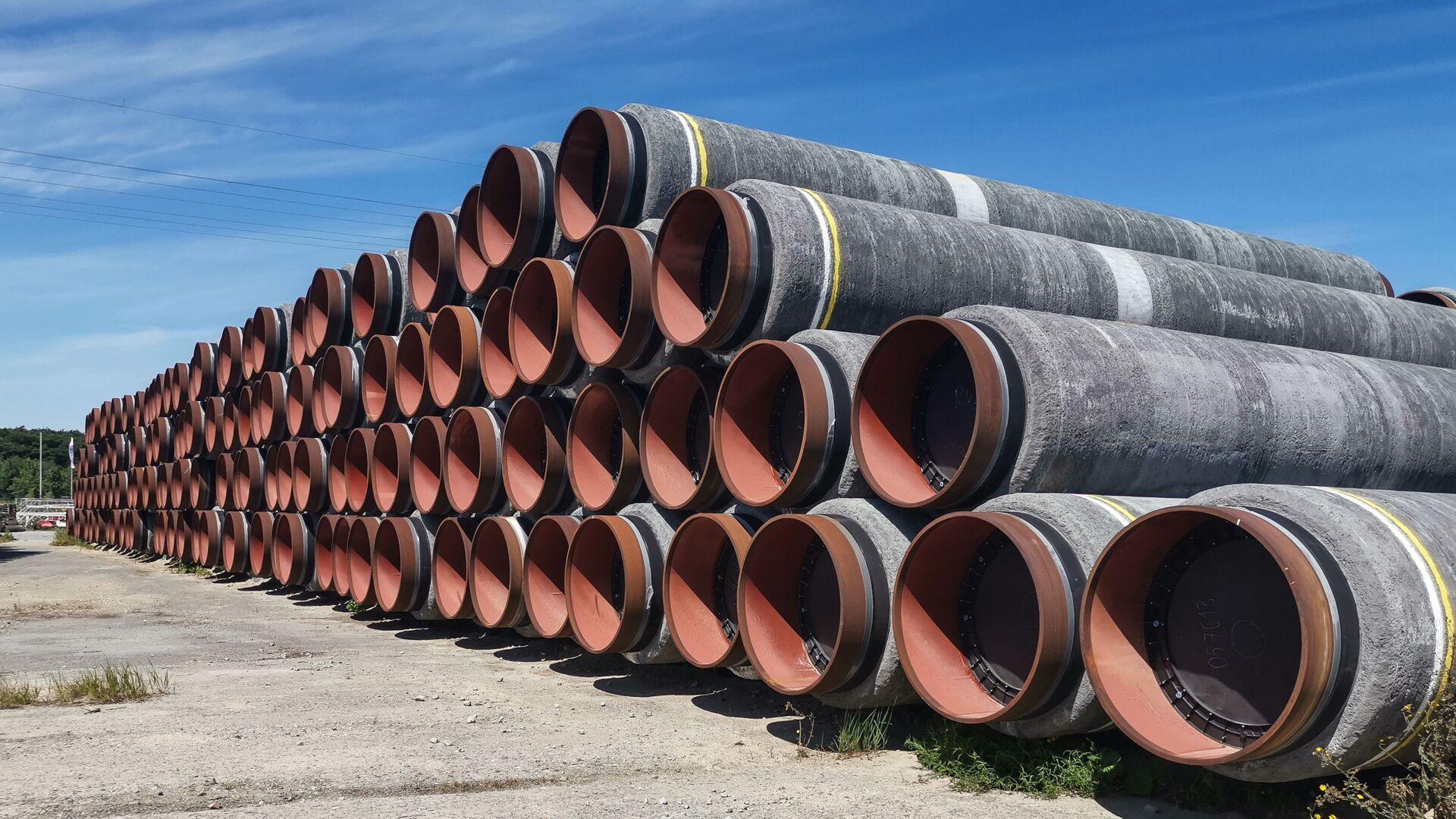 Tuberías para el gasoducto Nord Stream 2 - Sputnik Mundo, 1920, 03.03.2021