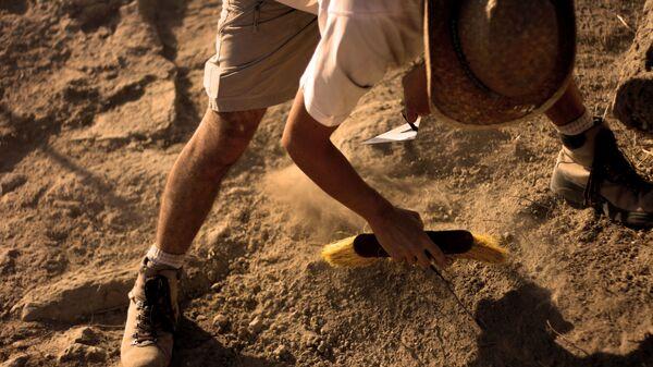 Imagen referencial de un arqueólogo - Sputnik Mundo