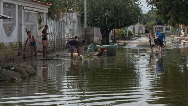 Inundación en Venezuela - Sputnik Mundo