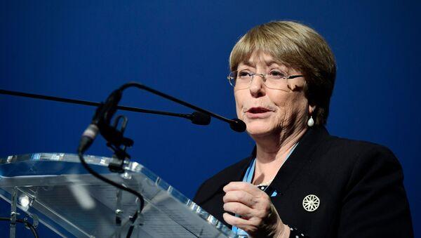 Michelle Bachelet, alta comisionada para los Derechos Humanos de la ONU - Sputnik Mundo