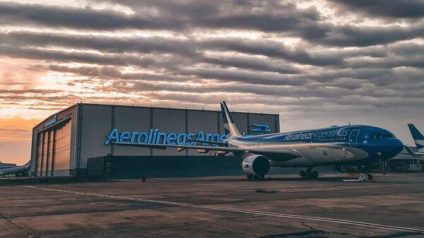 Avión de Aerolíneas Argentinas - Sputnik Mundo
