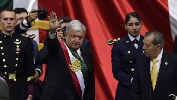 La ceremonia de toma de posesión de Andrés Manuel López Obrador - Sputnik Mundo