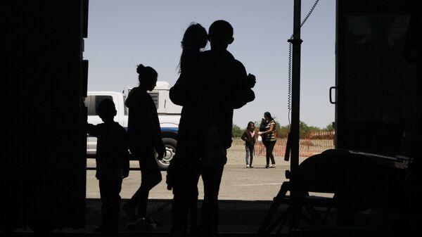 Niños migrantes de América Central (imagen referencial) - Sputnik Mundo