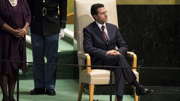 Enrique Peña Nieto, expresidente de México (archivo) - Sputnik Mundo