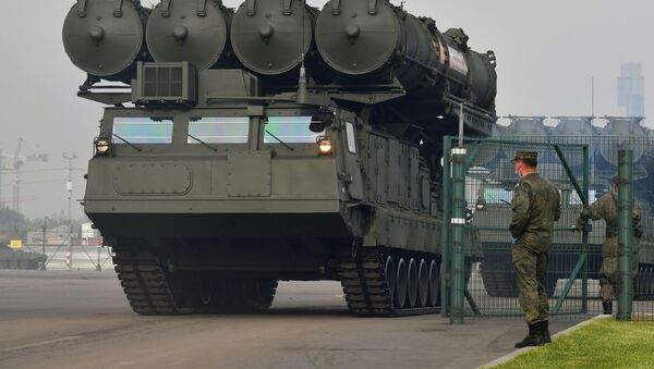 Sistema de defensa aérea ruso S-300V4 - Sputnik Mundo