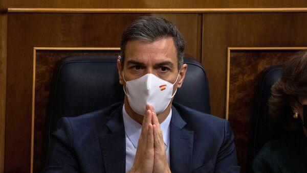 Presidente del Gobierno de España, Pedro Sánchez - Sputnik Mundo