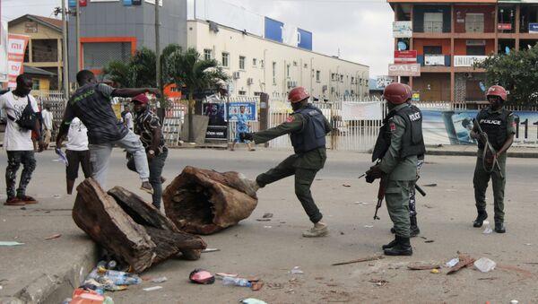 La Policía de Nigeria - Sputnik Mundo