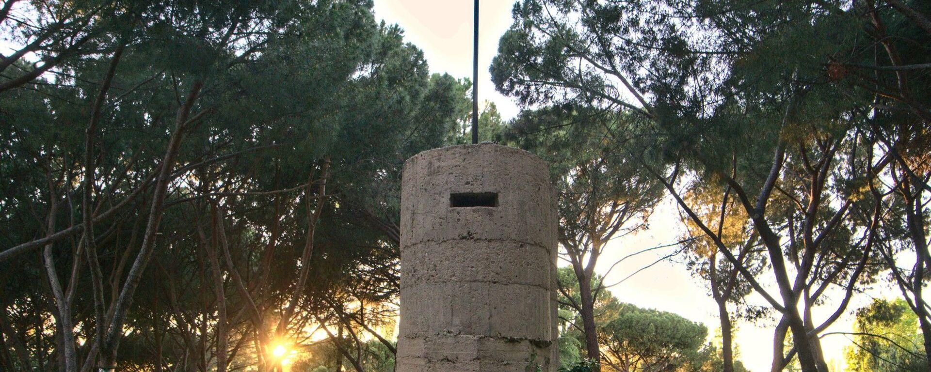 Un fortín de la Guerra Civil en el Parque del Oeste en Madrid - Sputnik Mundo, 1920, 23.10.2020