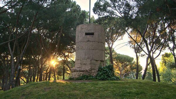 Un fortín de la Guerra Civil en el Parque del Oeste en Madrid - Sputnik Mundo